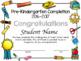 Preschool and Pre-Kindergarten Diplomas, Certificates, and Completion Editable