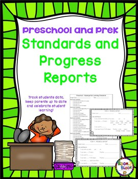 Preschool and PreK Standards and Progress Reports