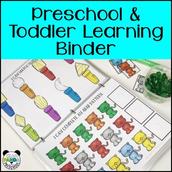 Assessment Binder with Learning Practice