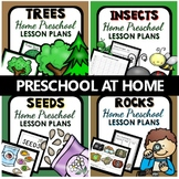 Preschool at Home-Nature Lovers Home Preschool Lesson Plan