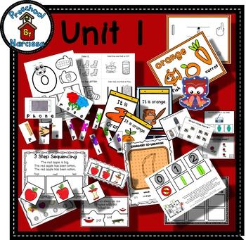 Preschool by Narcissa - Pre-K Program - Unit 1 - Begin Here {PbN}
