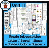 Preschool by Narcissa Pre-K Program - Unit 11  {PbN} - White Pentagon Z 10 & 11