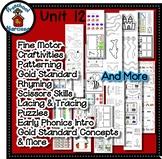 Preschool by Narcissa Pre-K Program - Unit 12  {PbN} - Tan S Hexagon 11 & 12