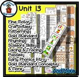 Preschool by Narcissa Pre-K Program- Unit 13 {PbN} - Heptagon H 13 Orange Shades