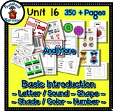 Preschool by Narcissa Pre-K Program- Unit 16 {PbN} - Decagon 16 Q Red Shades