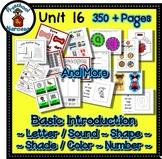 Preschool by Narcissa Pre-K Program- Unit 16 {PbN} - Decagon 16 Q Red Shades