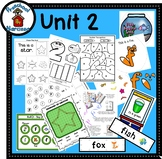 Preschool by Narcissa - Pre-K Program - Unit 2  {PbN} F Green Star 1 & 2