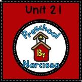 Preschool by Narcissa Pre-K Program - Unit 21 {PbN} - Pink Hemishphere A 21-25