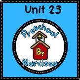 Preschool by Narcissa Pre-K Program - Unit 23 {PbN} - By 5's M Rectangular Prism