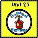 Preschool by Narcissa Pre-K Program - Unit 25 {PbN} - Cube Count to 50 E Review