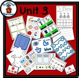 Preschool by Narcissa - Pre-K Program - Unit 3  {PbN} U Blue Circle 2 & 3