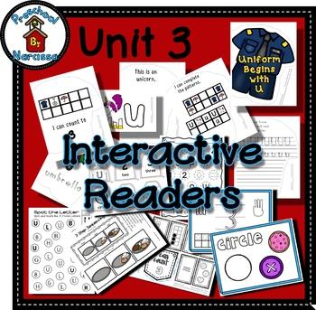 Preschool by Narcissa - Pre-K Program - Unit 3  {PbN} U Blue Circle 2 & 3