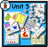Preschool by Narcissa - Pre-K Program - Unit 5  {PbN} - C Yellow Rectangle 4 & 5