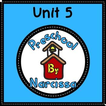 Preschool by Narcissa - Pre-K Program - Unit 5  {PbN} - C Yellow Rectangle 4 & 5