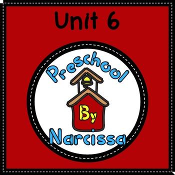 Preschool by Narcissa - Pre-K Program - Unit 6  {PbN} - K Purple Triangle 5 & 6