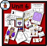 Preschool by Narcissa - Pre-K Program - Unit 6  {PbN} - K Purple Triangle 5 & 6