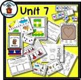 Preschool by Narcissa - Pre-K Program - Unit 7  {PbN} - V Brown Heart 6 & 7