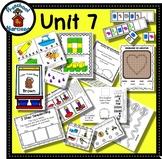 Preschool by Narcissa - Pre-K Program - Unit 7  {PbN} - V Brown Heart 6 & 7