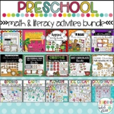 Preschool Math and Literacy Activities: Hands-on Fine Moto