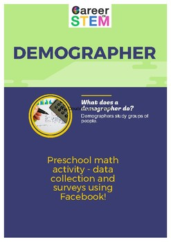 Preschool math activity - data collection and surveys using Facebook!
