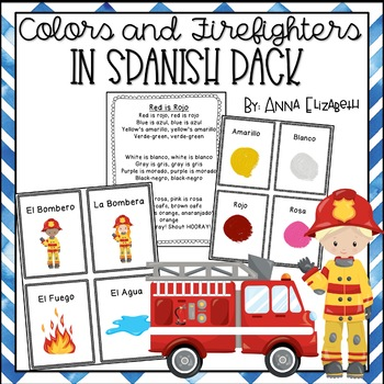 Spanish Colors and Firefighters