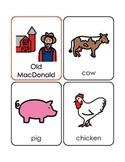 Preschool songs- Boardmaker flashcards