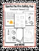 Preschool theme unit - Sparks the Fire Safety Pup - Fire Fighter Occupation Unit
