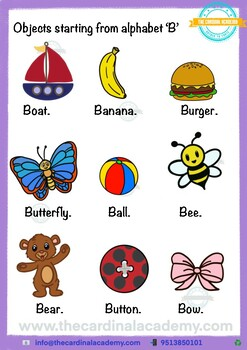 Preschool worksheets for age 2-3 years Month-1 by The ...