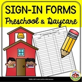 Preschool & Daycare Sign-in Forms