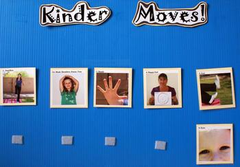 Preschool/Kinder Moves!  All About Me Unit
