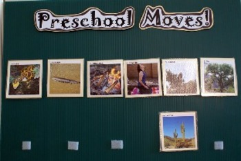 Preschool/Kinder Moves!  Camping in the Desert Unit