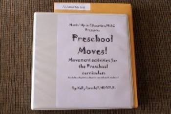 Preschool/Kinder Moves!  First Time Users File