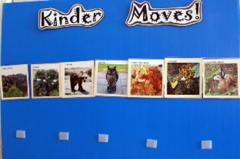 Preschool/Kinder Moves! Forest Unit