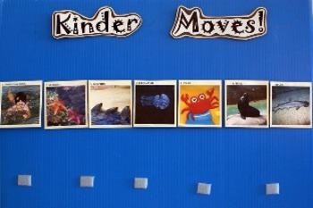 Preschool/Kinder Moves!  Ocean Unit