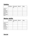Preschool/Kindergarten Report Card