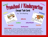 Preschool - Kindergarten Task Cards