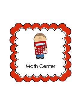 Preschool/Pre-K Center Signs FREE