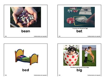 Preschooler's Most Frequently Occurring CVC Words