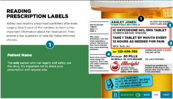 Prescription Drug Abuse Prevention - Digital Course for High School