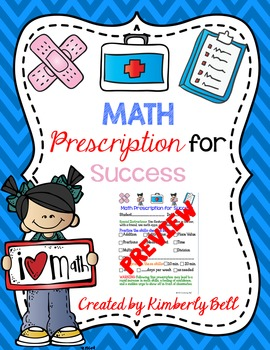 Math Parent Note Home