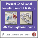Present Conditional Tense French ER Verbs - Primary French conjugation chains