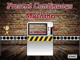 Present Continuous Machine (EFL / ESL - Foundation / Eleme