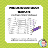 [INTERACTIVE NOTEBOOK] Present Continuous