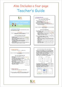 Present Continuous/Progressive Tense ESL Pack