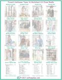 Present Continuous Tense 16 Worksheet- 4 Exam Bundle
