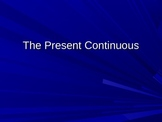 Present Continuous Tense: Animated Grammar for ESL Students