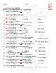 Present Continuous Tense Spanish Multiple Choice Exam