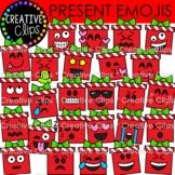 Present Emoji Faces (Christmas Clipart)