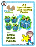 Present / Gift - Alphabet / Letter Puzzles - Simple Objects