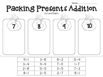 Present Packing Addition Match